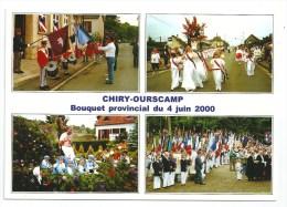 Cpm: 60  CHIRY OURSCAMP (ar. Compiègne) Bouquet Provincal Du 4 Juin 2000, Multivues N° 4 - Other Municipalities
