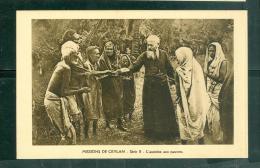 Missions De Ceylan  -  Série II  -  L'aumone Aux Pauvres     - Dax33 - Sri Lanka (Ceylon)