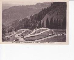 Route De La GIETTAZ (73) Au Col Des Aravis, Les Lacets. Tour De France ?, épreuve Cycliste ? - Autres Communes