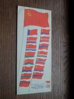 EXPO 1958 Brussels URSS - La Constellation Des Quinze - U.S.S.R. ( Zie Photo Voor Details ) !! - Old Paper