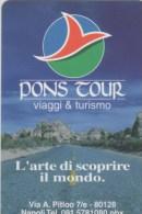 NUOVA-(Mint)-343- TELECOM ITALIA --PRIVATE-PONS TOUR - Italië