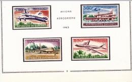 DAHOMEY - POSTE AERIENNE N° 24 A 27   -NEUF X   COTE : 23 € - Dahomey (1899-1944)