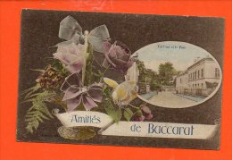 54 BACCARAT : Amitiés (le Pont Et Le Parc) (couleur) - Baccarat
