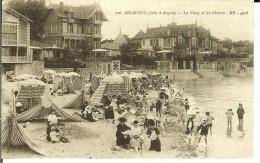 CPA  ARCACHON, La Plage Et Les Châlets  9452 - Arcachon