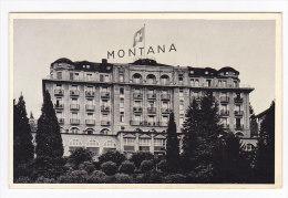 CPSM  SUISSE  Hotel Montana LUCERNE - LU Luzern