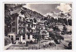 CPSM  SUISSE  WENGEN  Hotel Alpenrose - BE Berne