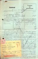 Contrat - Georges Henquet Radio électr. HUY - Factures & Documents Commerciaux