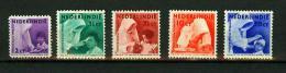 NEDERLANDS-INDIE 1936,5V,mission,missie,misión,missione,MH/ongebrui Kt( A1282) - Indes Néerlandaises