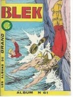 BLEK Reliure  N° 61 ( N° 424 + 425 + 426 )   - LUG  1986 - Blek