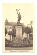 Cp, 86, Civray, Le Monument Aux Morts - Civray