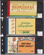 "IRLANDE - STOCK De 12 CARNETS ""GREETINGS STAMP BOOKLET"" - Carnets"