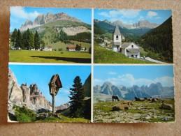 Tn1732)  Passo Carezza - Costalunga - Val Di Tires - S. Cipriano - Catinaccio - Torri Di Vajolet - Trento