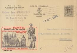 PUBLIBEL 1402°: ( Maison FAVRIL )  : CLOTHES,SUITES,UMBRELLA,A RCHITECTURE,CATHEDRAL,TOU RNAI, - Werbepostkarten