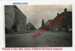 MOORSLEDE-Carte Photo Allemande-Guerre 14-18-1WK-BELGIQUE-BELGIEN-Flandern- - Moorslede