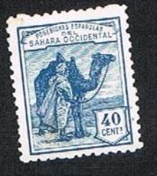 Ed. 7 Dromedarios Sahara 40 Cts. Nuevo Sin Char. Sin Goma - Sahara Español