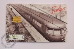 Phone Card Telefonica Spain - Train, Railway Engine/ Locomotive - Talgo Train - Virgen Del Pilar - Trenes