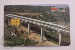 Phone Card Telefonica/ Cabitel Spain - Train, Railway Engine/ Locomotive Euromed - Trains