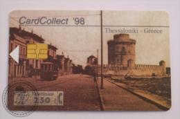 Phone Card Telefonica - Card Collect ´98 - Thessaloniki Tram - Greece - Trenes