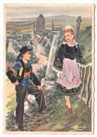 29 - En Parcourant La Bretagne - Locronan - Illustration Homualk - Editeur: Gaby N° 78 - Locronan