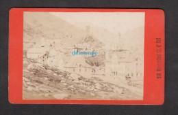 Photo Ancienne CDV 1880 - HOSPENTHAL / HOSPENTAL - Canton D' Uri - Photo A. Gabler à Interlaken - RARE - Photos