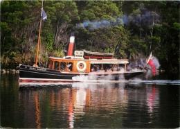 SS Eliza Hobson Steam Ferry Boat, Kerikeri, New Zealand Postcard - Nueva Zelanda