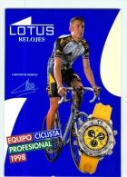 Christophe MOREAU . Equipe LOTUS 1998 - Radsport