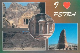 Asie- Jordanie H.K Of JORDAN  - (I Love)  PETRA  (2)(Editions : Al Hawari Ghassan N°100- Photo Claude Nuffer)*PRIX FIXE - Jordanie