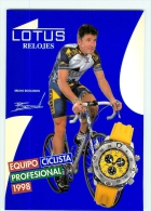 Bruno BOSCARDIN . Equipe LOTUS 1998 - Cycling