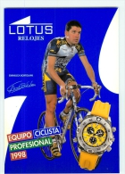 Gianluca BORTOLAMI . Equipe LOTUS 1998 - Cycling