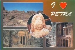 Asie- Jordanie H.K Of JORDAN  - (I Love)  PETRA  (1)(Editions : Al Hawari Ghassan N°102- Photo Claude Nuffer)*PRIX FIXE - Jordan