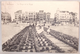 Wenduine. Wenduyne. La Digue Et La Plage. Strand En Dijk. - Wenduine