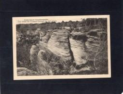 46597    Germania,   Kleine  Luxemburger  Schweiz,  Vue  Totale  Sur Le Massif  Formant  Les Sept  Gorges,  NV(scritta) - Echternach