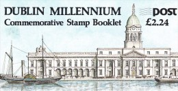 IRLANDE - 1988 - CARNET MILLENAIRE DE DUBLIN - Carnets