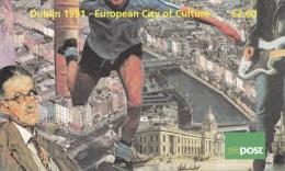 "IRLANDE - 1991 - CARNET ""DUBLIN - CITY OF CULTURE"" - MUSIQUE .... - Carnets"