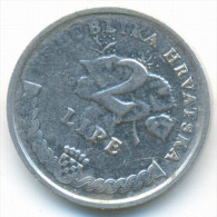 ERROR , CROATIA 2 LIPE W/O LAST NUMBER ON THE YEAR 199? - Kroatien