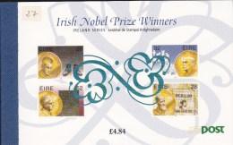"IRLANDE - 1994 - CARNET De PRESTIGE ""PRIX NOBEL"" - Carnets"