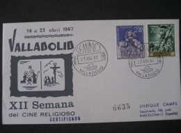 Valladolid Spain 1967 Semana Cine Religioso SEMINCI Special Event Cancel Cine Film Cinema Camara Camera Pelicula