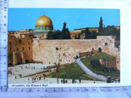 CPA - ISTRAEL - JERUSALEM The Western Wall - Israel