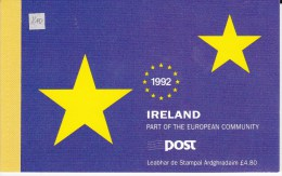 "IRLANDE - 1992 - CARNET  ""COMMUNAUTE EUROPEENNE - Carnets"
