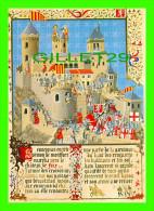 HISTOIRE DU CATHARISME - SIMON DE MONTFORT DEVANT L´INVINCIBLE CHÂTEAU DE FOIX - ORIENT - COL. PALME - - Histoire