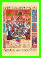 HISTOIRE DU CATHARISME - PRISE DE LAVAUR - DAME GÉRALDE PRECIPITÉE DANS LE PUITS - ORIENT - COL. PALME - - Histoire
