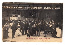 CPA (75) PARIS (XI°) - Le Bureau De Poste N° 87 (Belle Animation) - France