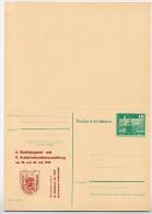 Haffwoche Ueckermünde DDR P81-2a-79 C5-a  Postkarte Mit Antwort Zudruck 1979 - Fêtes