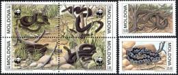 Moldavie Moldova 1993 Yvertn° 44-49 *** MNH Cote 7 Euro Faune WWF - Moldavie