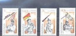 Moldavie Moldova2001 Yvertn° 348-51 *** MNH  Cote 8 Euro Musique - Moldavie