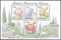 Moldavie Moldova 2002 Yvertn° Bloc 28 *** MNH Cote 7 Euro Flore - Moldavie