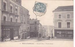 Sillé Le Guillaume Precurseur Grande Rue Draperie Chemin Adam 1904 - Sille Le Guillaume