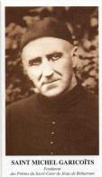 Plaquette De Commémoration Pour Le Prêtre SAINT-MICHEL GARICOÏTS (2.17) - Faire-part