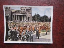 Schlageter Gedenkfeier München Nazi NS Propaganda 5 Salem Zigarettenbild Der Kampf Ums Dritte Reich - Sonstige