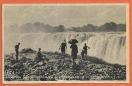 N14/ 038, Victoria Falls Bathing , Non Circulée - Zambie